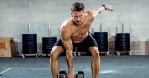 Testosterone levels can be optimized by with proper training methods.